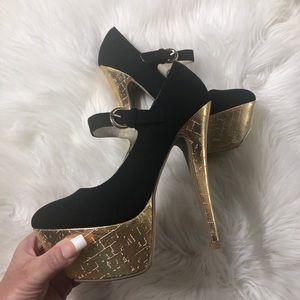 Shoe Dazzle Platform High Heels
